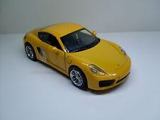Porsche Cayman (981) giallo, NewRay Modello finito Modello statico 1:32