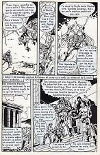 KILLRAVEN LES RATS  PLANCHE DE MONTAGE ORIGINALE FLASH AREDIT PAGE 16