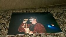 KING DIAMOND one of a kind Photo Heavy METAL Concert MERCYFUL FATE Cult LIVE 666