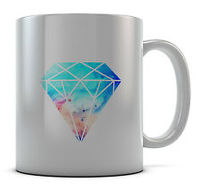 Hipster Nebula Diamond Mug Cup Present Gift Coffee Birthday