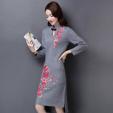 Plum Blossom Flower Embroidery Applique Cloth Sew&Iron on Patch Dress Badge Hat