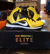 Nike Lebron 9 Elite IX Taxi Size (Men's) 11.5 516958-700 Basketball Shoes
