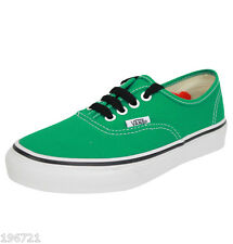 VANS BOYS PEPPER GREEN / TRUE WHITE TRAINERS BNIB UK 1 EU 33