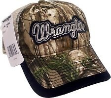 Wrangler Mens Camo Camouflage Mesh Back Western Ball Cap Hat *NWT* Snapback
