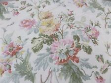 Lauren Ralph Lauren Full/Queen Duvet Cover Cabbage Rose Floral Vintage Cottage