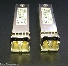 Pair of  PLRXPL-VE-SG4-64-N IBM Genuine 22R6442 SFP FC 4Gbps SFP Transceiver