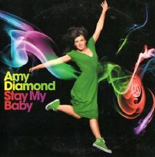 Maxi CD Schweden AMY DIAMOND,Stay My Baby, Eurovision
