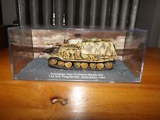 "COLLECTOR DIE CAST TANK, PANZERJAGER TIGER, ANZIO - 1944, 4"" LONG TANK BODY"