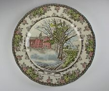 Johnson Brothers THE FRIENDLY VILLAGE(1883)Comm. Dinner Plate 2007   EX!