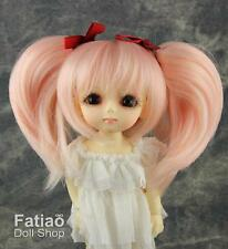 "Fatiao - Dollfie Lati Yellow Pukifee 5-6"" Doll Wig - Pink"