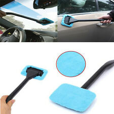Washable Car Winshield Microfibre Cleaner Glass Demister Handle Cloth Wiper Wand