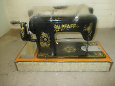 Beautiful 1959  Hand Crank Pfaff 6 Industrial sewing machine in case