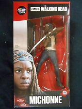 "The walking dead couleur tops rouge #2 ""michonne"" figure (McFARLANE TOYS) neuf"