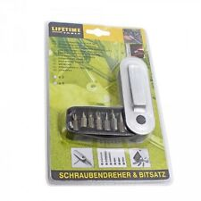 Lifetime Tools, Schraubendreher & Bitsatz Set