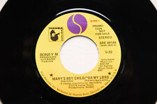"BONEY M He Was A Steppenwolf/Mary's Boy/Oh My Lord 7"" PROMO NM Soul R&B"