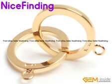 1 Strand 14K Gold Filled Toggle Clasp Repair Finding For Jewelry Making DIY 16mm