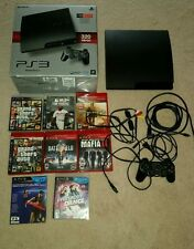 Sony PS3 PlayStation 320 GB Console  1 Controller 7 Games bundle