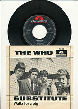 "7"" - The Who - Substitute / Walz For A Pig - Polydor 421030 - DE 1966"