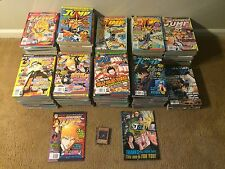 complete lot print run of 110 Shonen Jump manga magazines + cards + bonus items