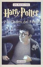 Harry Potter: Harry Potter Y la Orden del Fenix Year 5 by J. K. Rowling...
