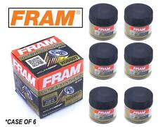 6-PACK - FRAM Ultra Synthetic Oil Filter - Top of the Line - FRAM's Best XG6607