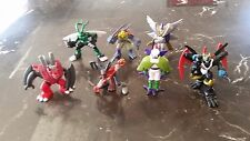 Digimon Bandai Mini Figure Lot OF 8 Some Extremely Rare LOOK