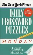 Daily Crossword Puzzles (Monday) Vol. 1 by New York Times Staff (1996,...