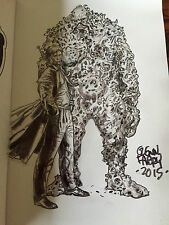 Glenn Fabry sketchbook 3 Constantine Swamp Thing sketch Hellblazer original art