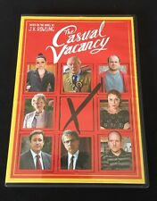CASUAL VACANCY - USED - LIKE NEW DVD Based On Novel J.K Rowling Movie Rare OOP!!