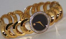 Womens Movado Rondiro gold 0605528 0.50ct.apx.custom set real Diamond Watch