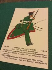 Old Post Card  Rene North French Cavalry Scouts Set 20 No 3