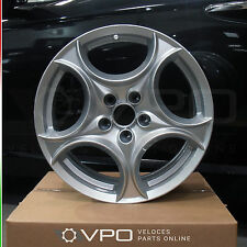 """Authentique 17"""" roue en alliage pour alfa romeo 159 sportwagon brera araignée 60695011"""