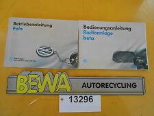 Bedienungsanleitung       VW Polo 6N        Bj.95      Nr.13296/E