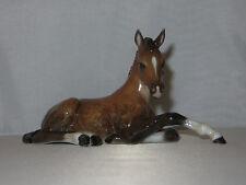 """VINTAGE 1950'S """"RESTING HORSE / FOAL"""" ROSENTHAL PORCELAIN FIGURINE #826 - MINT"""