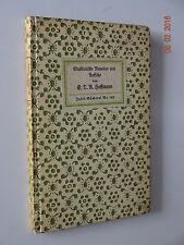 Insel-Bücherei Nr. 142. 41 - 45 T. E.T.A. Hoffmann: Musikalische Novellen
