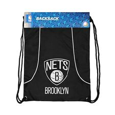 """BROOKLYN NETS 18""""X13"""" AXIS BACK SACK NEW & OFFICIALLY LICENSED"""