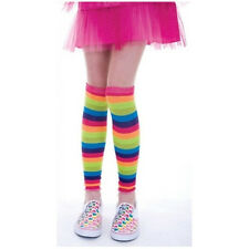 Rainbow Legwarmers Leg Warmers Harajuku Dance Eighties Brite Minx Leggings