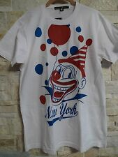 MARC JACOBS ORIGINAL RARE FIRST EDITION NEW YORK  CLOWN  T-SHIRT  SIZE M