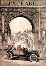 Art Poster - Packard - Ask the Man Who Owns One - Advert A3 Print