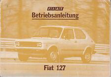 Fiat 127 Betriebsanleitung 3/1977
