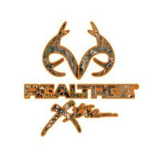 Official Realtree Outfitter BLAZE ORANGE Xtra Camo Vinyl Decal RDE1238 Truck Car