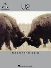 U2 The Best Of 1990-2000 Guitar Recorded Versions Tab Book NEW!