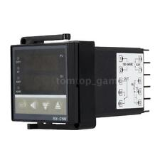 Digital LED PID Temperature Temp Controller Thermostat Control 100-260V V5O2