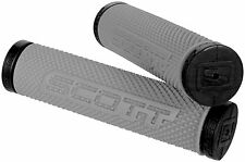 Scott SXII ATV Grips For Thumb Throttle Grey Black Watercraft MTB Handlebar SX2