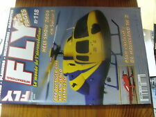 µ?b  Revue FLY n°118  plan encarté Tipsy Nipper Arrow Tiger Havilland TK2