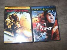 Black Hawk Down & Wing And A Prayer 2 DVDs in Excellent Shape