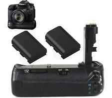 Battery Grip 70D + 2X Decoded LP-E6 For Canon EOS BGE14 BG-E14 DSLR Camera new