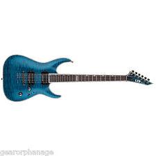 ESP LTD MH-1000NT See Thru Blue STB *New* Electric Guitar MH1000