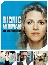 The Bionic Woman: The Complete Series DVD 14-Disc  2015 Lindsay Wagner 58 Eps