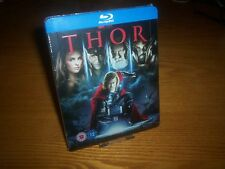 THOR blu-ray steelbook rare OOP UK Zavvi region free Marvel (worldwide shipping)